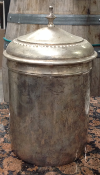 SILVER CANISTER