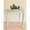 SIDE TABLE - Catie Rae Robin Egg Blue