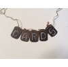 CARDS WOODEN BANNER