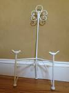MED/SM IVORY IRON EASEL W/ BIRDS