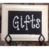 GIFTS SMALL FRAMED CHALKBOARD