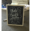 PHOTO BOOTH IVORY CHALKBOARD