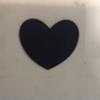 CHALKBOARD LABEL - SMALL HEART