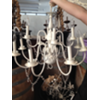 XL DOUBLE ARM - IVORY CHANDELIER