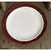 RED PAPER PLATE HOLDER