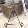 SMALL BRONZE IRON EASEL