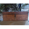 VINTAGE WOOD BOX W/ HANDLE