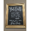 PHOTO BOOTH GOLD FRAMED CHALKBOARD
