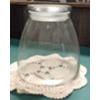 CLEAR JAR W/ LID