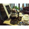 TEA POTS - ANT TARNISHED STEEL