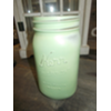 MINT GREEN MASON JAR - EA