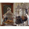 APOTHECARY JARS - SET OF 3