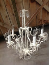 1867 CHANDELIER IVORY