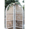 SET OF 2 CURVED TOP FRENCH DOORS