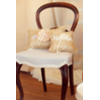 CHAIRS - W/ MATERIAL (SET OF 2)