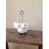 BIRD PLACE CARD HOLDER - IVORY