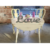 SWEETHEART TABLE/CHAIRS