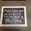 WISHES FOR NEW MR & MRS