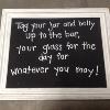 TAG YOUR JAR/BELLY UP BURLAP FLWR