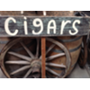 CIGARS - WOOD STAKED SIGN