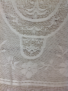 IVORY COTTON LACE OVERLAY 4'x5'