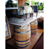 BAR 5 PANEL DOOR WINE BARREL