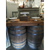WAGON WHEEL WINE BARREL BAR