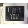 THANK YOU - IVORY DISTRESSED FRAME