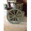 VINT WAGON WHEEL - SM GREENISH BLUE