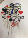 SET OF 26 PHOTOBOOTH PROPS