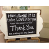HOW SWEET IT IS THANK YOU - SMALL DESIGNER FRAME