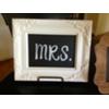 MR & MRS WHITE FRAMED