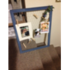 CHICKEN WIRE BLUE FRAME