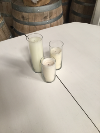 CLEAR GLASS CYLINDER - SHORT