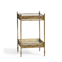 Colette gold side table