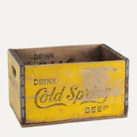 Cold Spring bottling crate