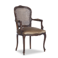 Claremont taupe armchair
