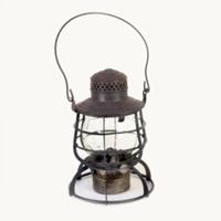 Billings railroad lantern