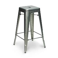 Carlisle gunmetal bar stool