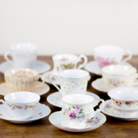 teacup and saucers