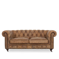 Winthorp leather studio sofa