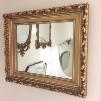 Godfrey gold mirror