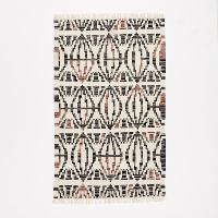 Geometric kilim 5x8' rug
