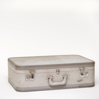 Air Way gray suitcase