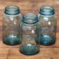 quart regular aqua jars