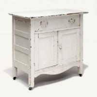 Lincoln cream cabinet