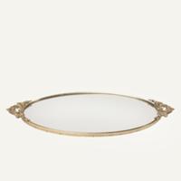 Janna mirror vanity tray