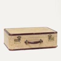 Karver tweed suitcase