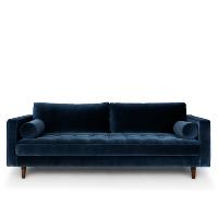 Veruca blue sofa