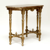 Jessica gold side table